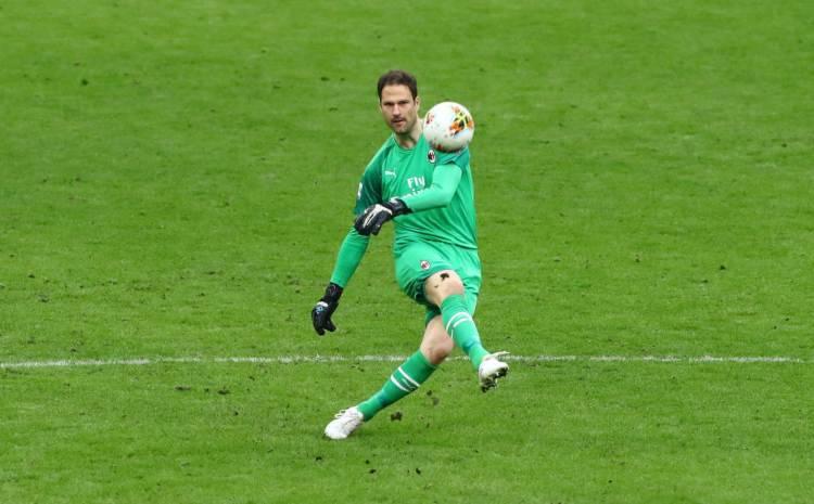 Asmir Begovic Milan