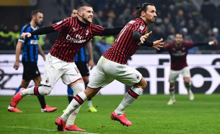 Milan vice Ibrahimovic