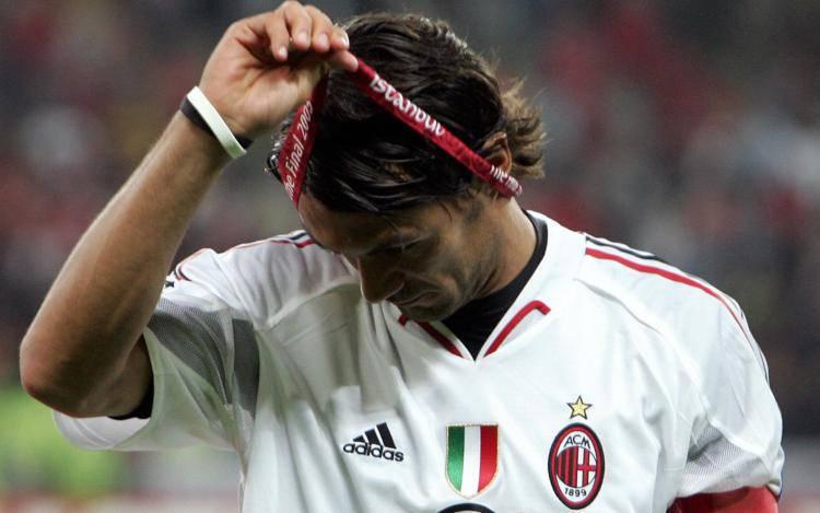 Paolo Maldini Liverpool Istanbul 2005
