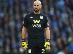 Pepe Reina Aston Villa
