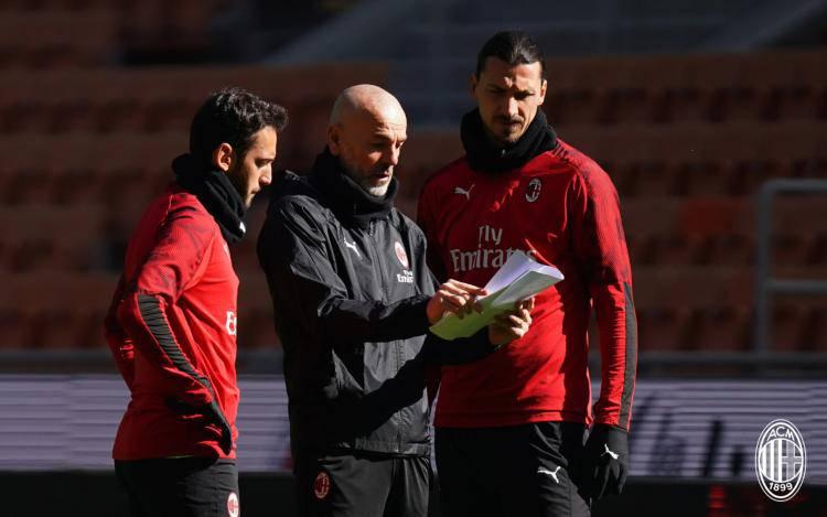 Milan allenamenti senza Ibrahimovic