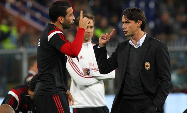 Adil Rami problemi al Milan con Inzaghi