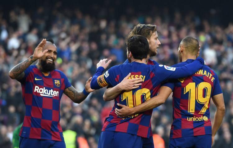 Esultanza Barcellona