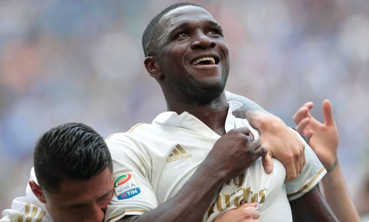 Cristian Zapata Inter Milan Derby