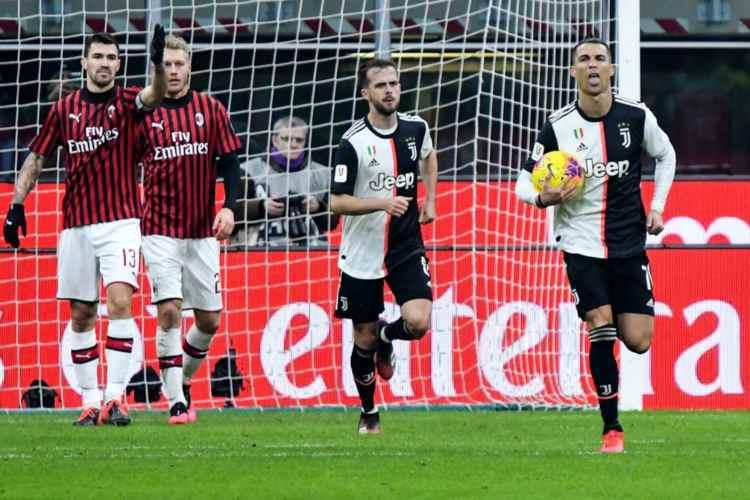 Juventus Milan niente supplementari
