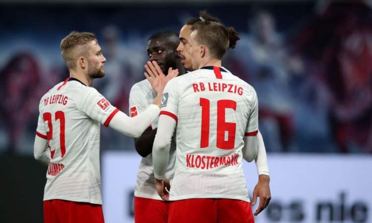 I calciatori del Lipsia