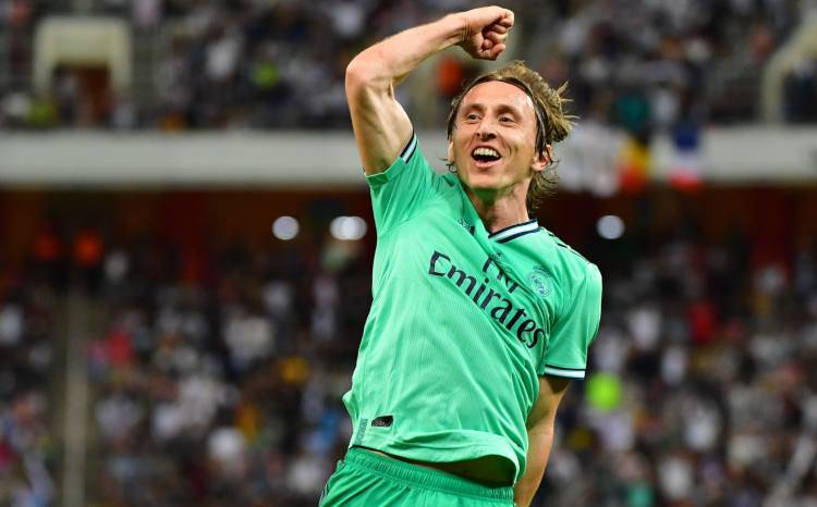 Luka Modric Milan Inter