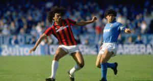 Maradona Gullit napoli milan