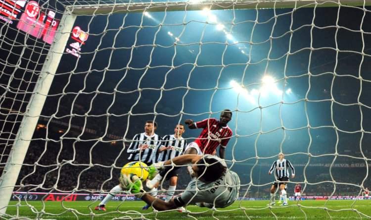 Muntari gol Milan Juve