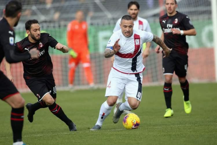 Nainggolan Cagliari-Milan (1)