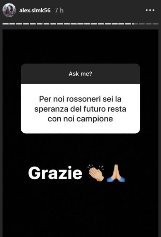 Alexis Saelemaekers Instagram