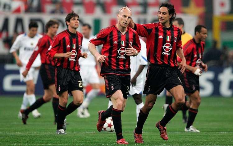 Stam derby Milan Inter 2005