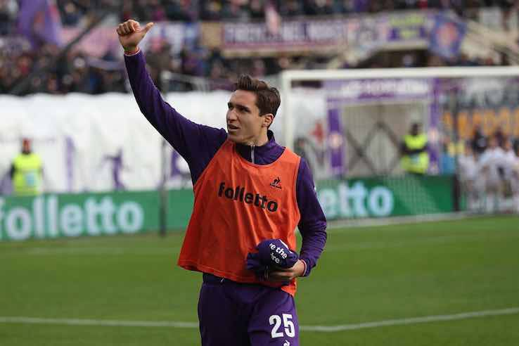 """Chiesa, segnali al Milan: """"Meglio dell'Inter del Triplete"""""""