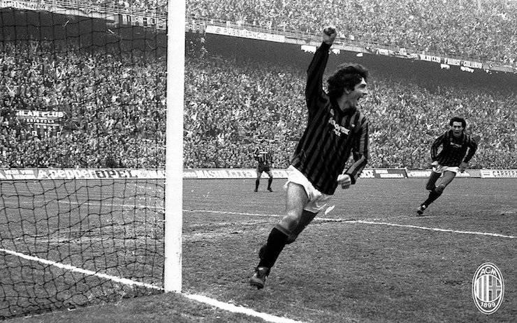 Paolo Rossi al Milan