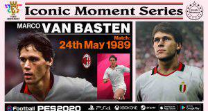 pes 2020 icon moments van basten