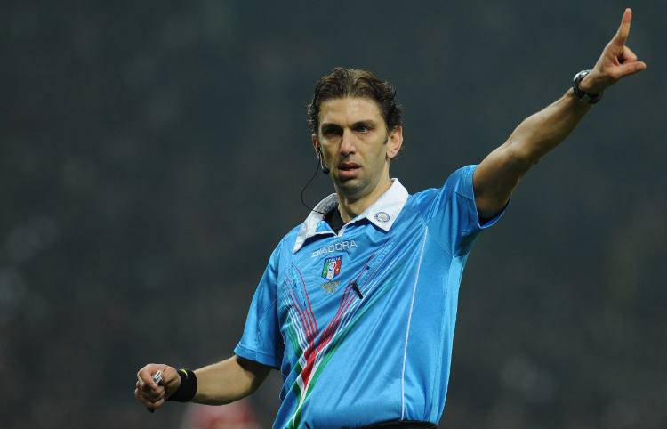 Arbitro Tagliavento Milan Juve