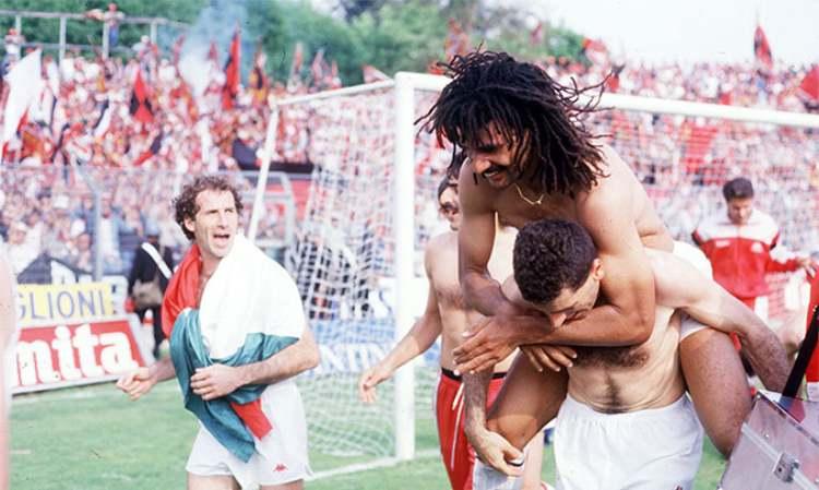Milan Scudetto 1988 a Como