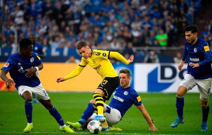 Borussia Dortmund Schalke 04 dove vederla