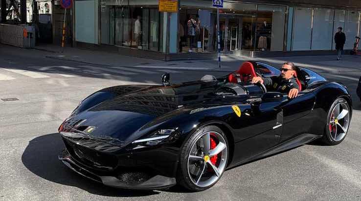 Ibrahimovic Ferrari Monza SP2