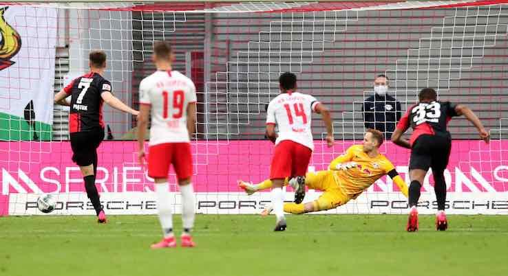 Piatek gol Lipsia-Hertha