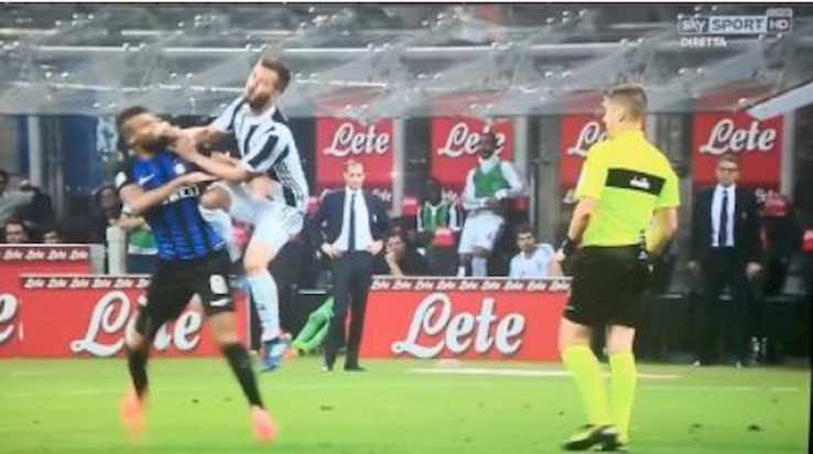 Pjanic mancato rosso in Inter-Juve