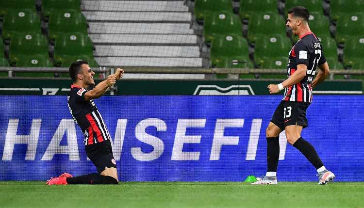 André Silva segna ancora con l'Eintracht