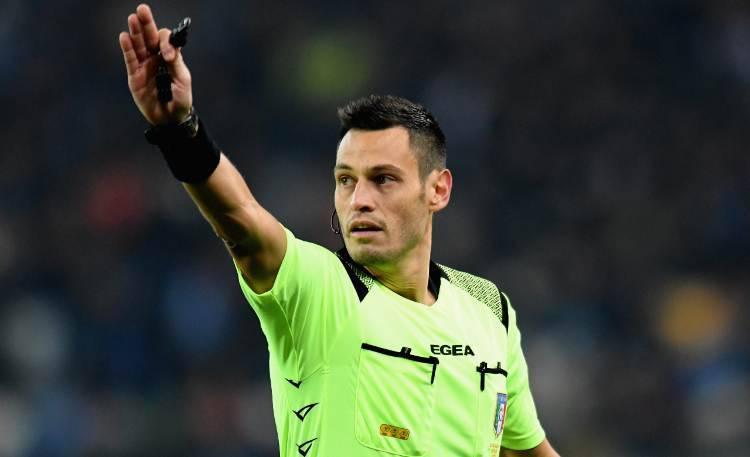 Arbitro Maurizio Mariani SPAL Milan
