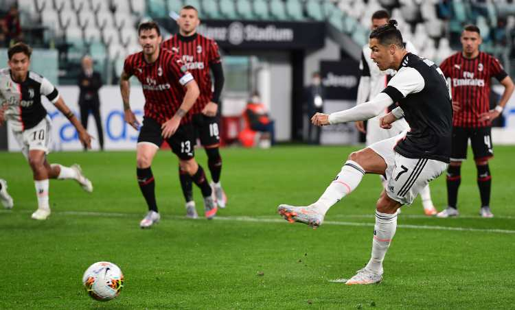 Cristiano Ronaldo Juve Milan