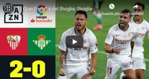 Lucas Ocampos decisivo derby Siviglia