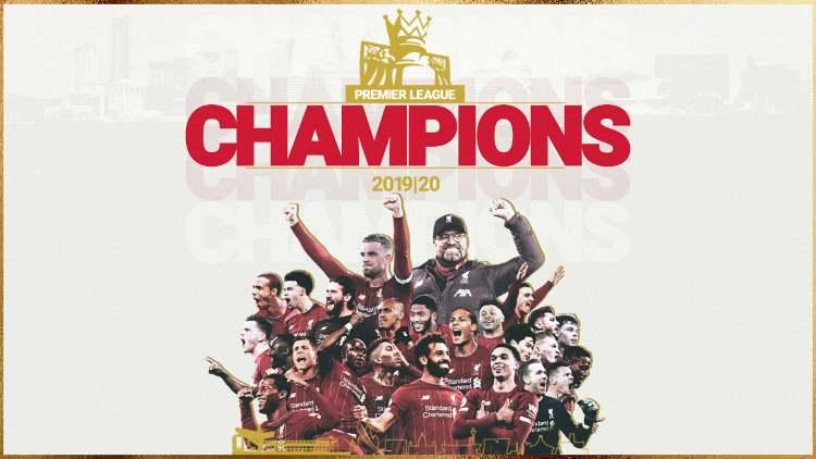 Liverpool campione premier league