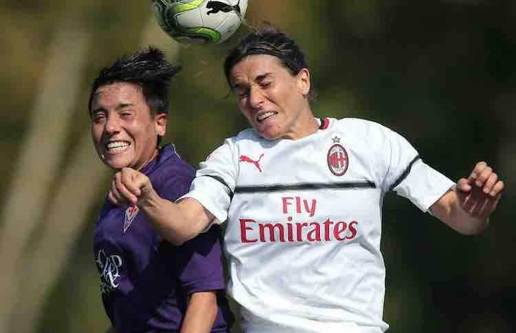 Marta Carissimi addio calcio