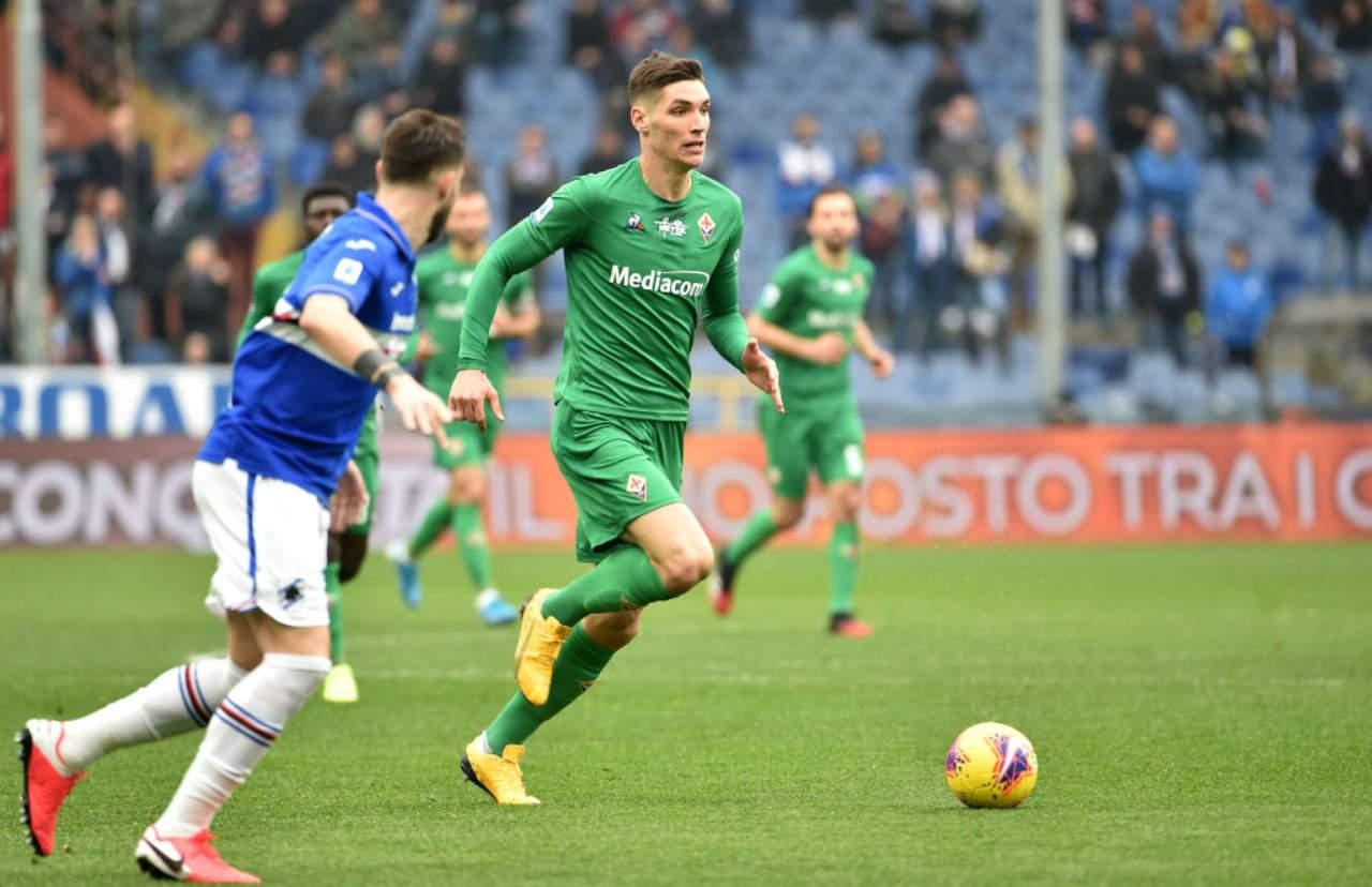 Fiorentina, Milenkovic al bivio: Milan alla finestra