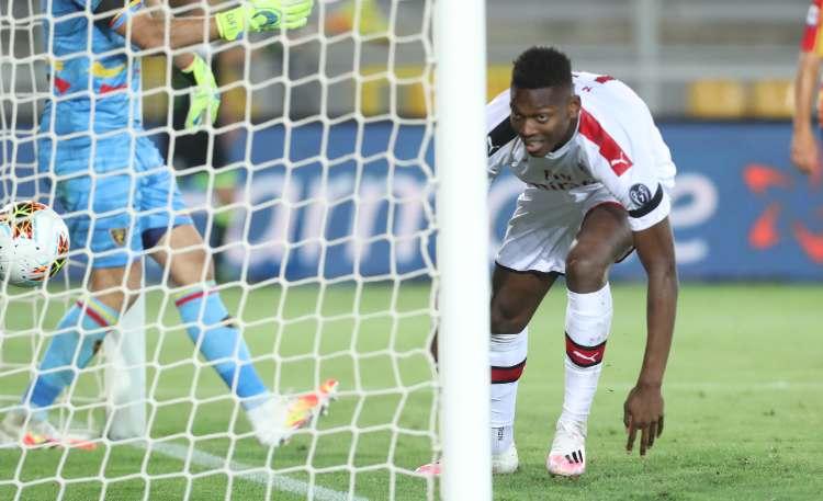 Rafael Leao gol Lecce Milan
