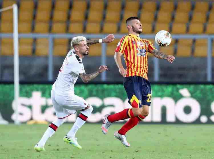 Samu Castillejo Lecce-Milan