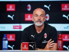 Stefano Pioli conferenza Milan Lazio