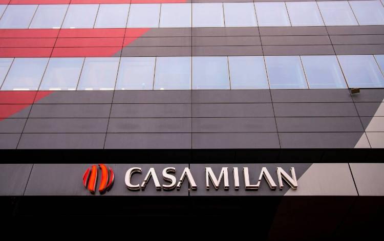 Milan rosso Rossoneri Lux