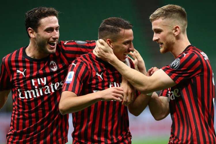 Formazioni Milan Atalanta