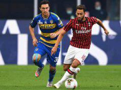 Calhanoglu intervista Milan Parma
