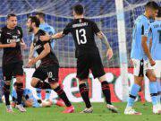 Lazio Milan reazioni social