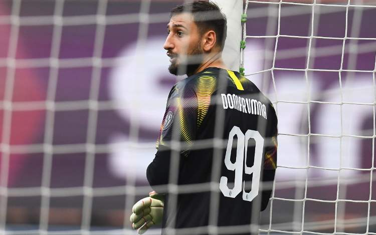 Gigio Donnarumma elogia Pioli Ibrahimovic