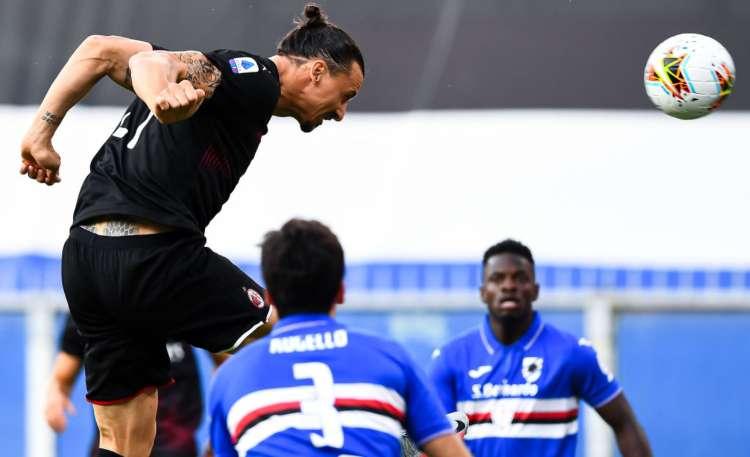 Ibrahimovic super Samp Milan