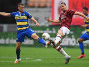 Ibrahimovic Milan Parma