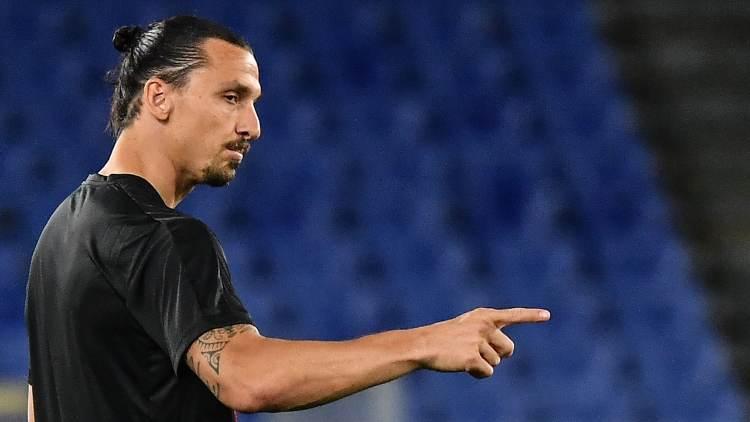 Zlatan Ibrahimovic formazioni ufficiali milan juve