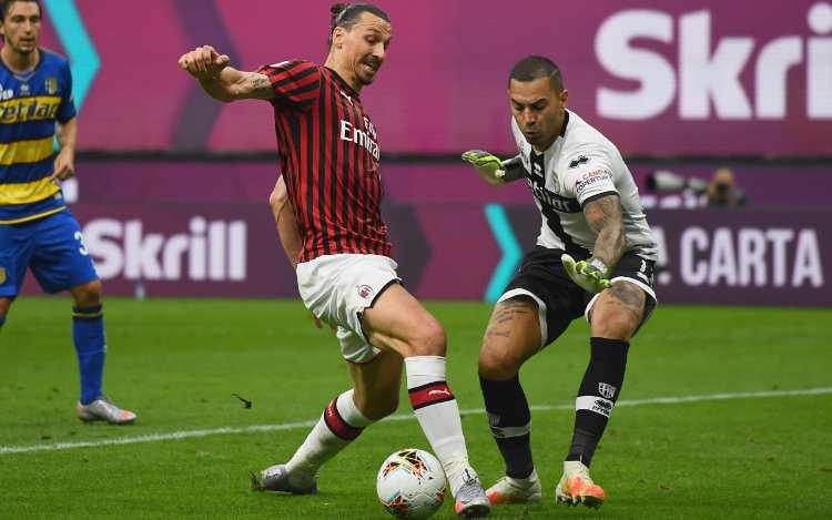 Pagelle Milan Parma Ibrahimovic