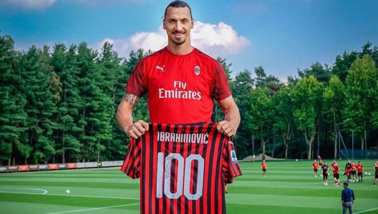 Ibrahimovic numero maglia Milan