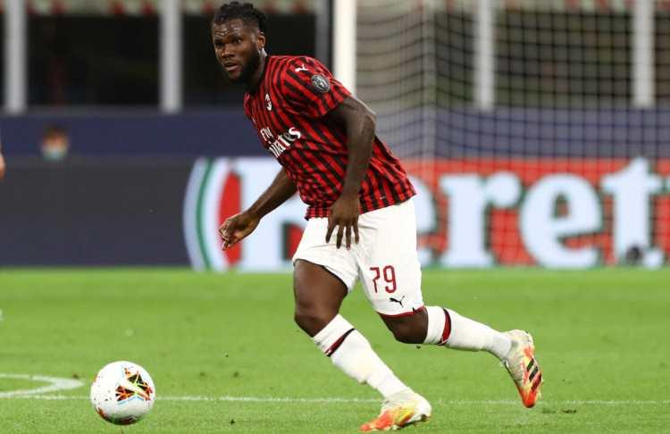 Franck Kessie agente Casa Milan