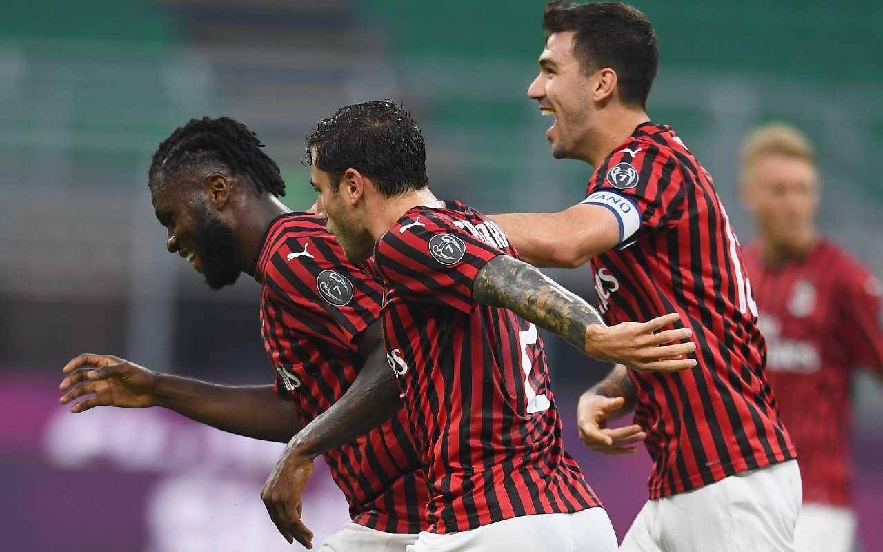 Milan Parma risultato finale