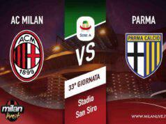 Milan Parma diretta live