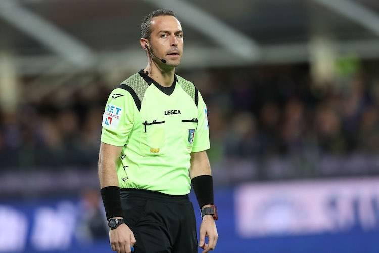 Arbitro Luca Pairetto