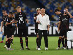 Pioli dopo Napoli-Milan